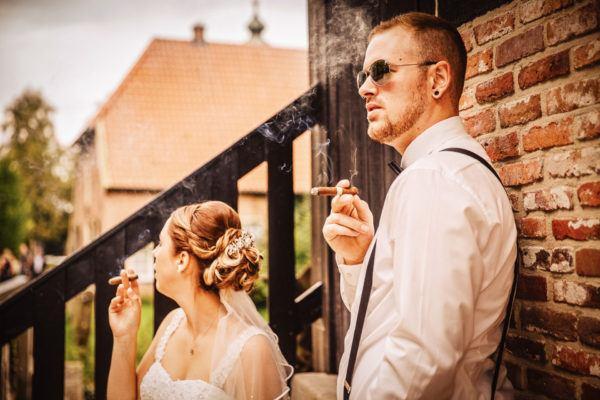 Alternative Hochzeit Fotografie